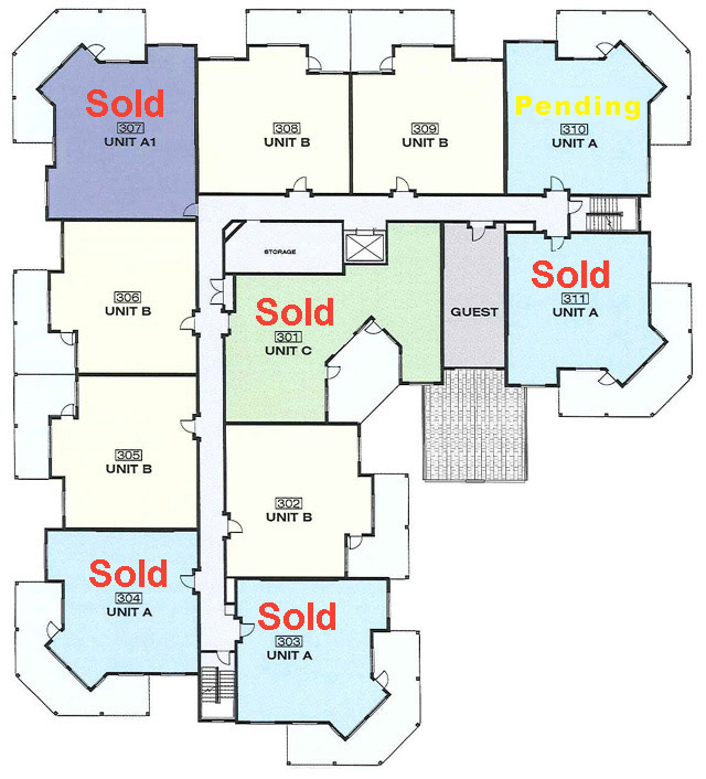 Platinum 3 - 3rd Floor With Floorplans