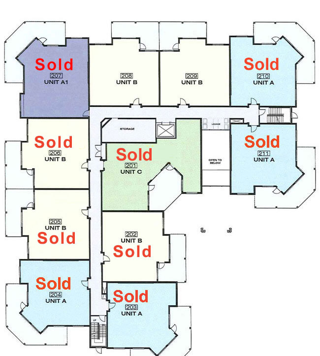 Platinum 3 - 2nd Floor With Floorplans