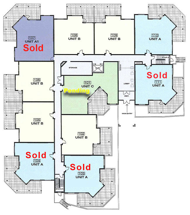 Platinum 3 - 1st Floor With Floorplans