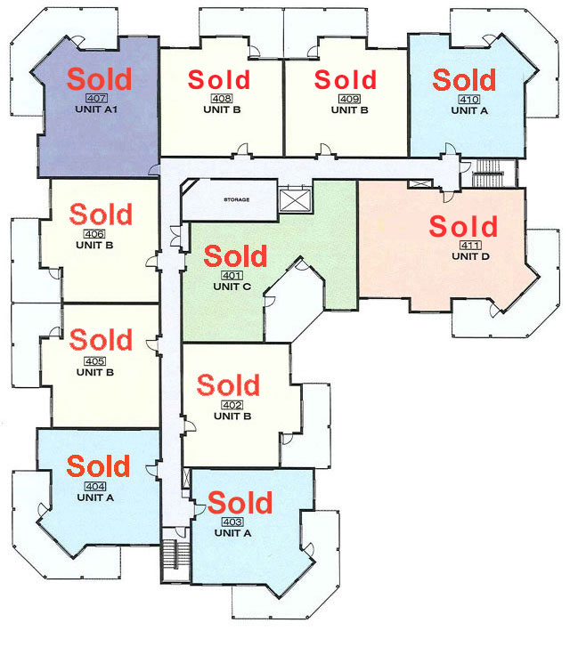 Platinum 3 - 4th Floor With Floorplans