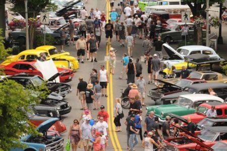 CLASSIC CAR SHOW Englewood Courtyard - Englewood car show