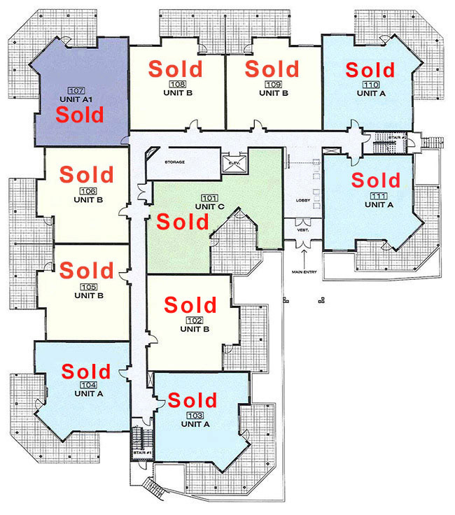 Platinum 3 - 1st Floor With Floorplans