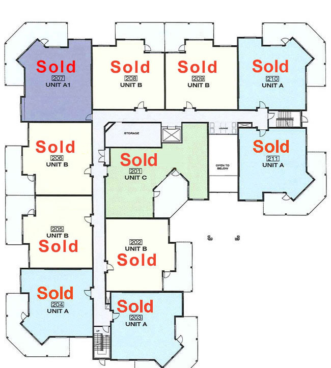 Platinum 3 - 2nd Floor With Floorplans